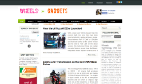 Wheels and Gadgets