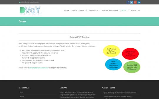 DVoY Solutions